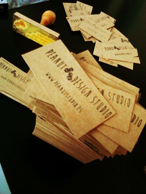 Diseño de nuestras tarjetas hechas a mano