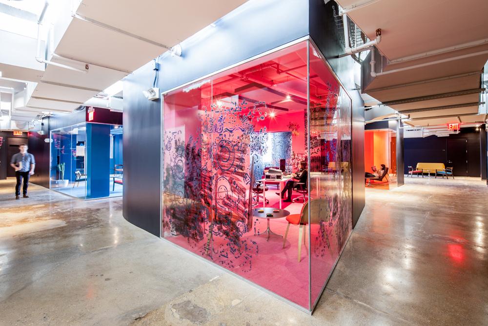 Red Bull Music Academy de Nueva York, diseño por INABA