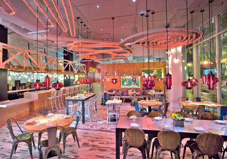 Restaurante China Chilcano de José Andrés en Washington, diseño de Capella García Arquitectura