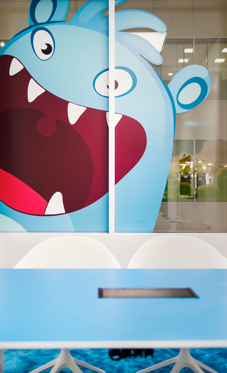 Oficinas King en Estocolmo, diseño de Adolfsson & Partners