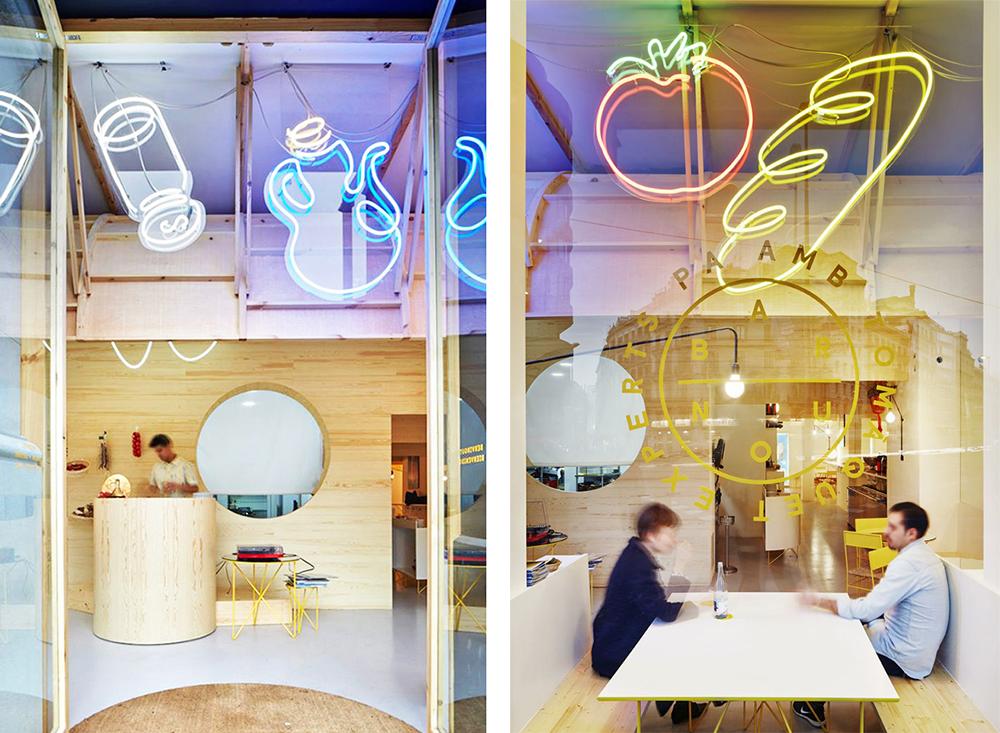 Bar nou en Barcelona, diseño de Maio.