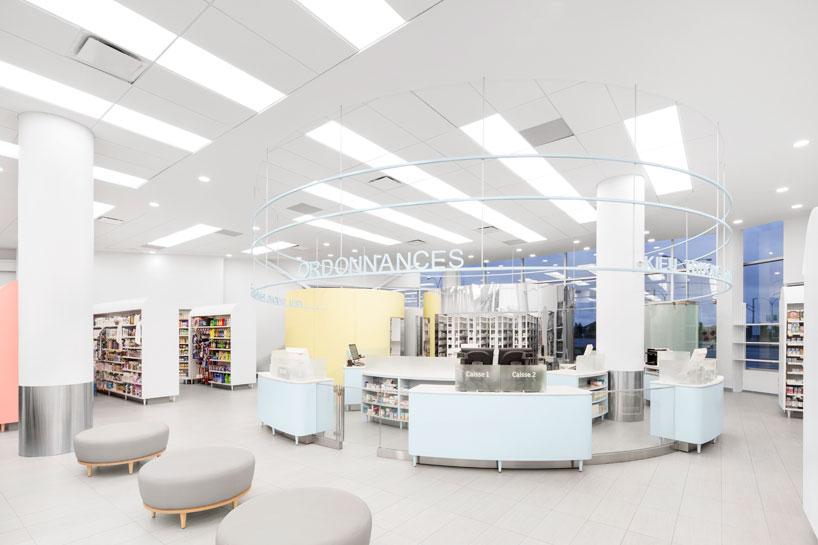 Farmacia-clínica-Uniprix-montreal-diseño-jean-lessard-3