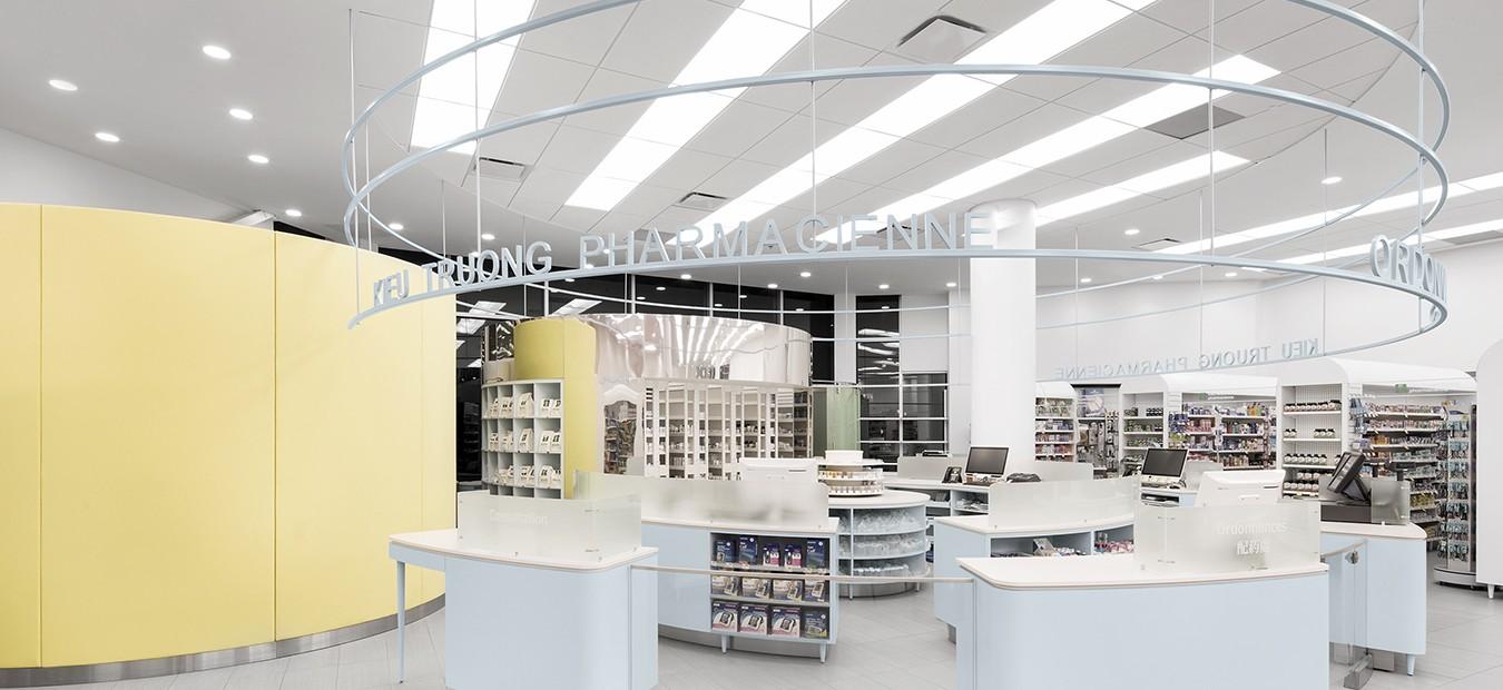 Farmacia-clínica-Uniprix-montreal-diseño-jean-lessard-6