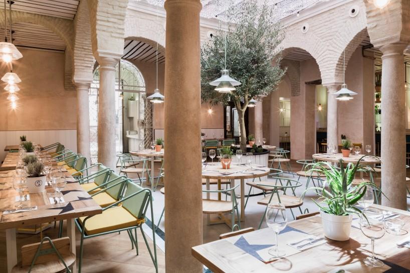 Restaurante El Pintón en Sevilla, diseño de Estudio Lucas y Hernández-Gil 1