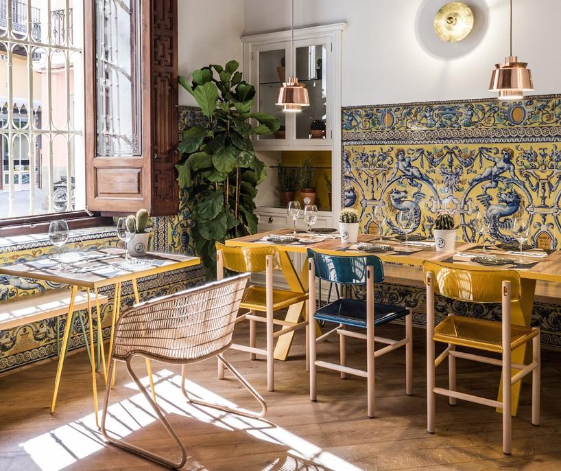 Restaurante El Pintón en Sevilla, diseño de Estudio Lucas y Hernández-Gil 11