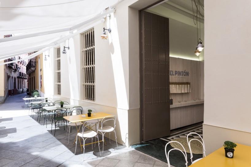 Restaurante El Pintón en Sevilla, diseño de Estudio Lucas y Hernández-Gil 2
