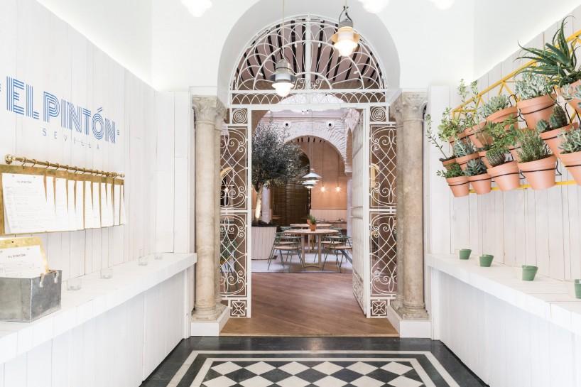 Restaurante El Pintón en Sevilla, diseño de Estudio Lucas y Hernández-Gil 4