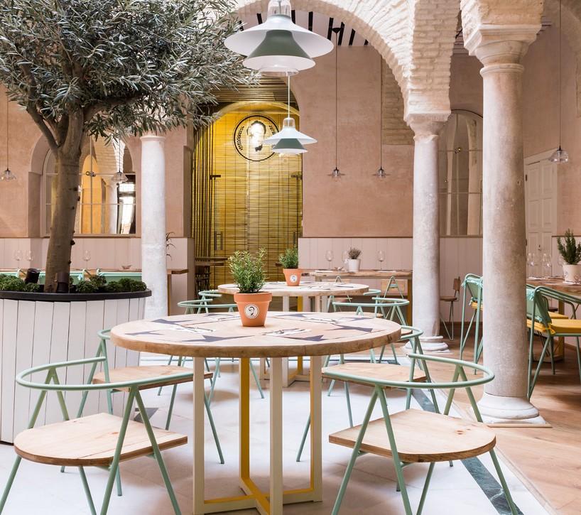 Restaurante El Pintón en Sevilla, diseño de Estudio Lucas y Hernández-Gil 5