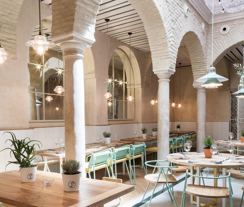 Restaurante El Pintón en Sevilla, diseño de Estudio Lucas y Hernández-Gil