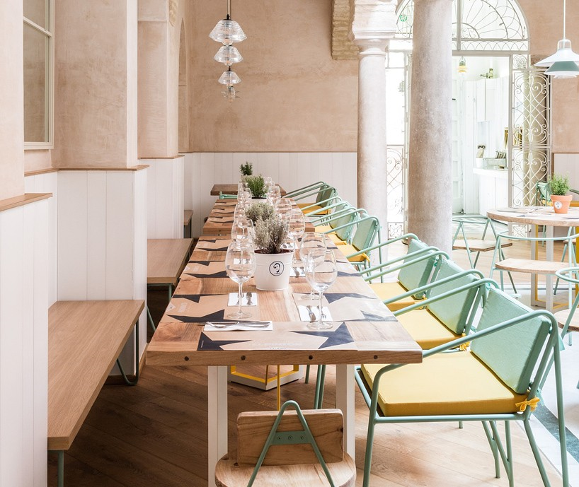 Restaurante El Pintón en Sevilla, diseño de Estudio Lucas y Hernández-Gil 7