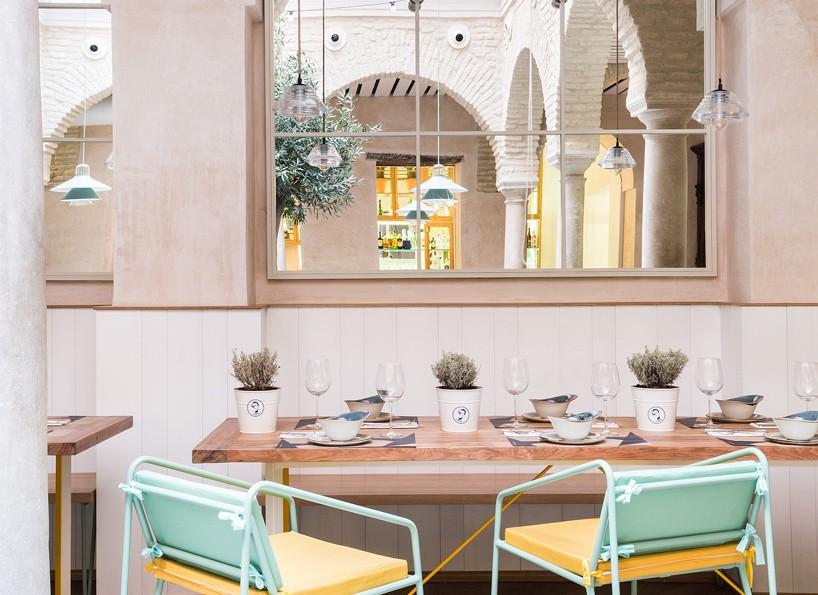 Restaurante El Pintón en Sevilla, diseño de Estudio Lucas y Hernández-Gil 8