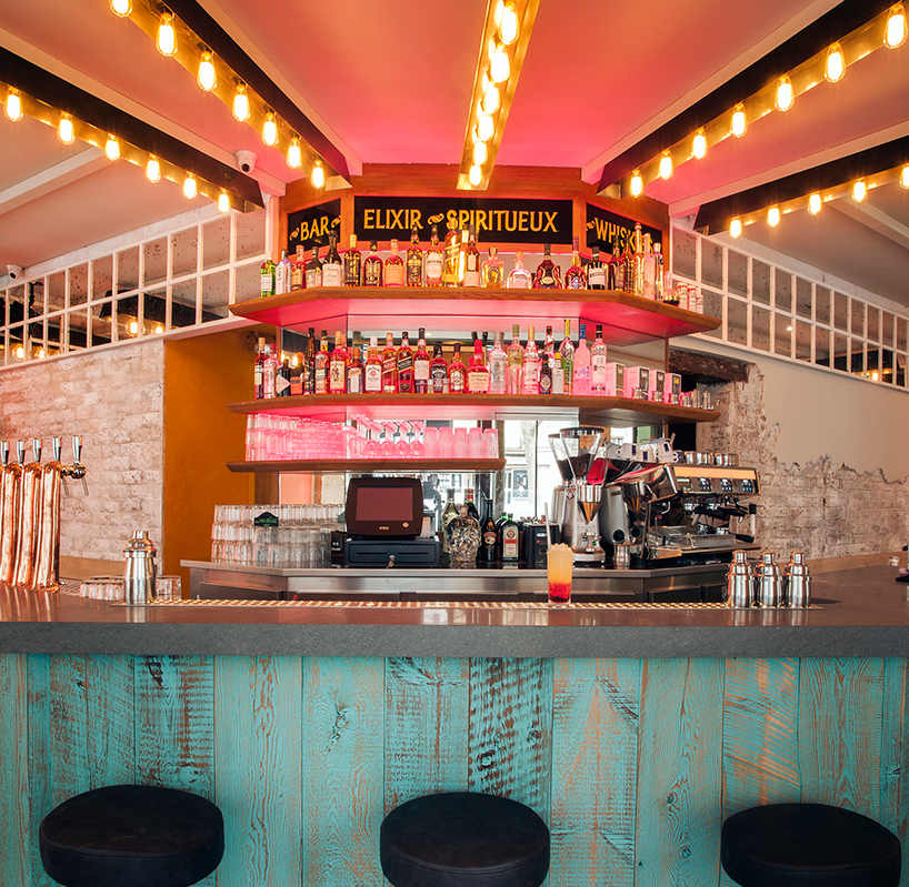 Bar de copas La Mère Pouchet en París diseñado por Michael Malapert 4