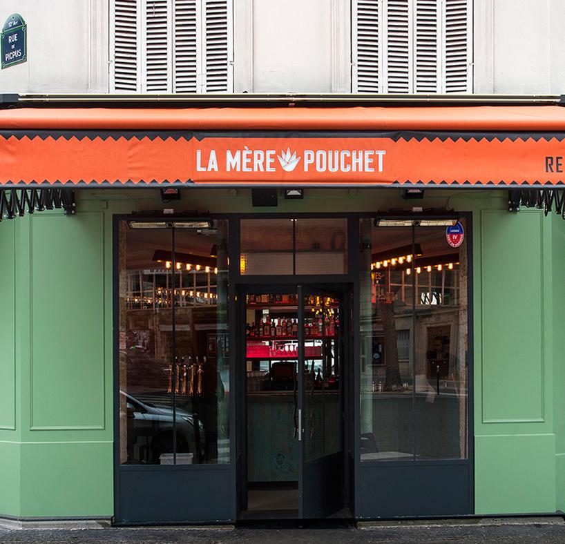 Bar de copas La Mère Pouchet en París diseñado por Michael Malapert 5