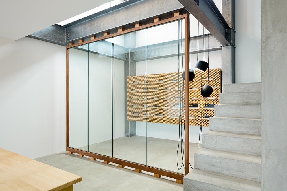 Showroom para Tadafusa diseñado por Yusuke Seki