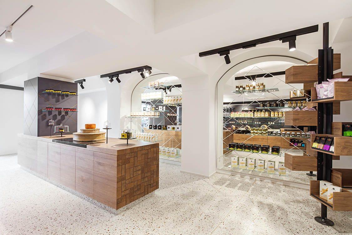 Lingenhel espacio gourmet en Viena diseño de Destilat 4